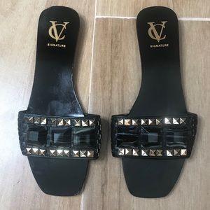 VC VINCE CAMUTO Slide Sandals Size 9.5 VI FLORA